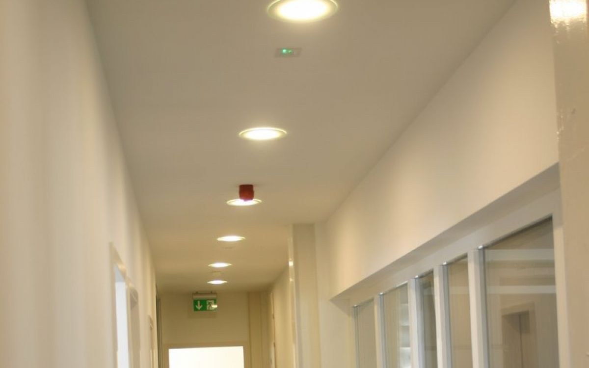 Down light - Flush mount ceiling lamp