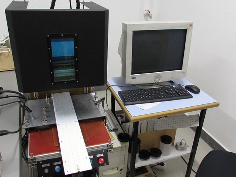 The laser marking line