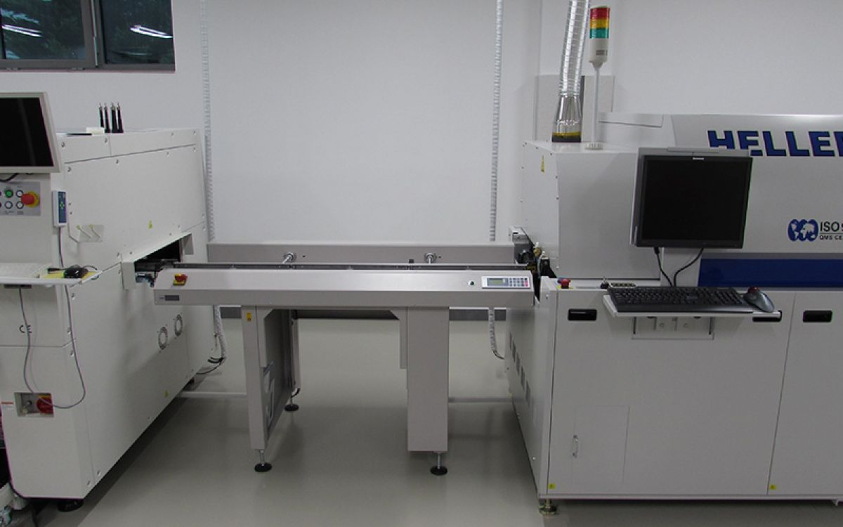 SMD line 1 (Hot Air Reflow)